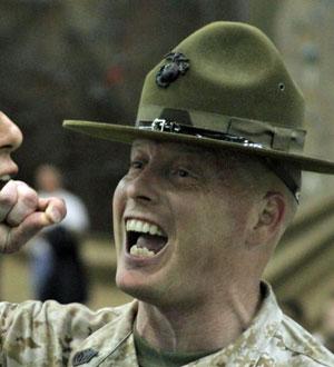 Men's military haircuts