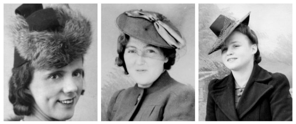 1940s hairstyles hats