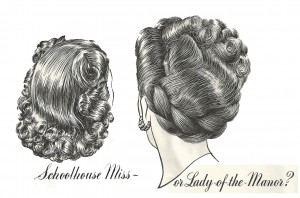 1947 advert in Vogue
