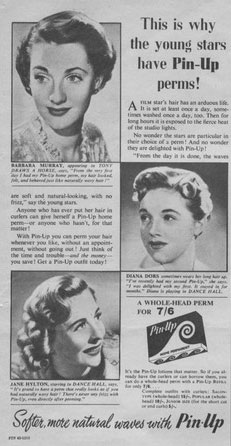 Pin-Up Perms Advert