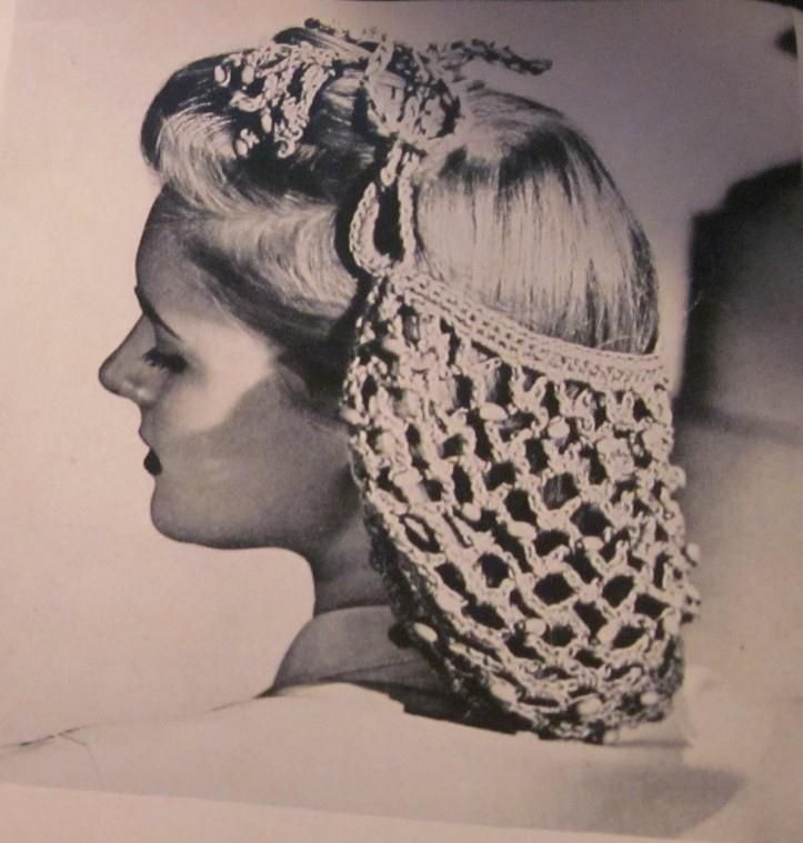 women's 1940s hairstyles and snoods