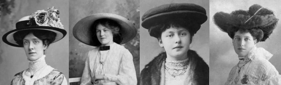 women's Edwardian hairstyles