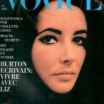 Vogue covers Liz Taylor