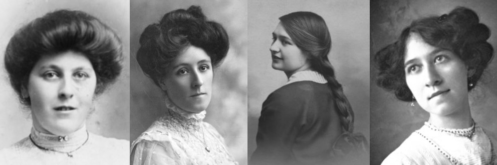 Surprising Women39S Edwardian Hairstyles An Overview Hair And Makeup Artist Short Hairstyles For Black Women Fulllsitofus