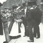 photographs edwardian britain flower sellers