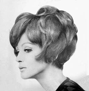 women's 1960s hairstyles - the artichoke