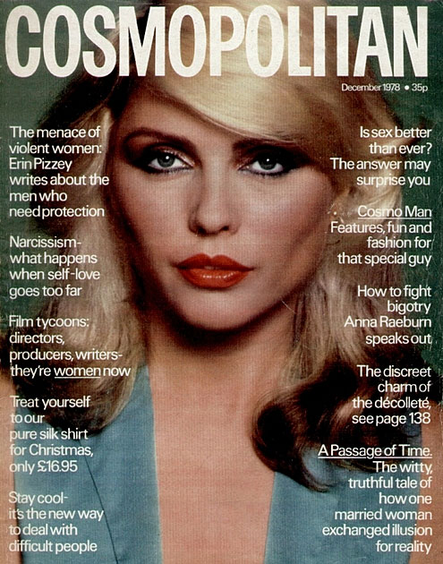 Debbie Harry Cosmopolitan 1978
