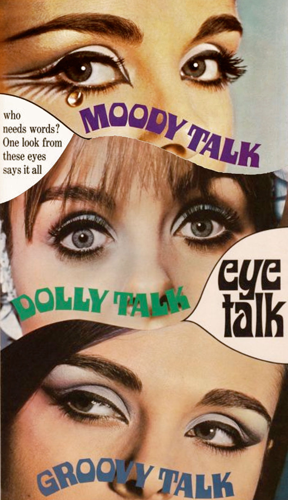 Max Factor Eye Talk adverts