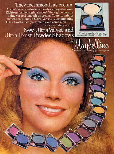 Maybelline advert c1970s
