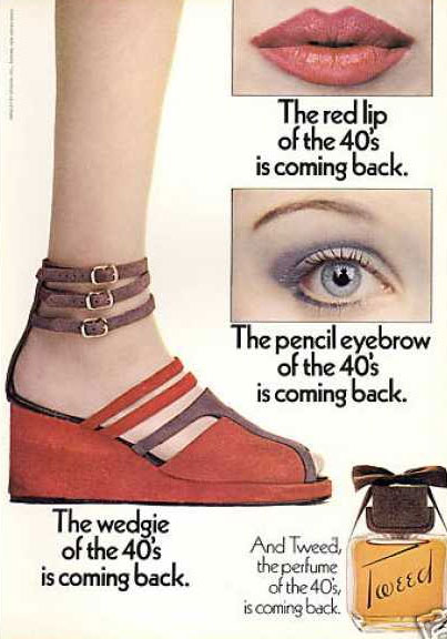 Yardley Tweed advert 1971
