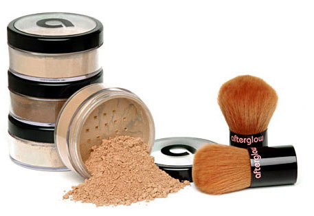 Afterglow Cosmetics mineral makeup