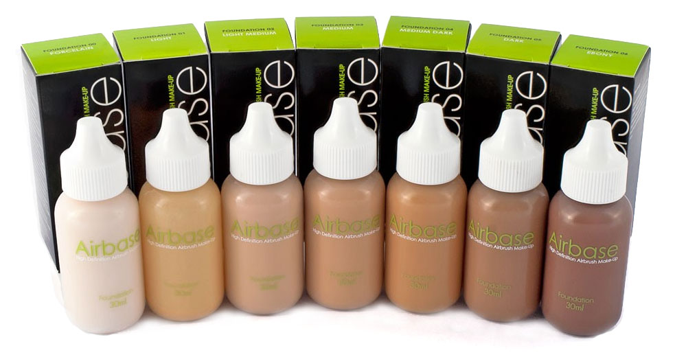 Airbase Airbrush Foundations