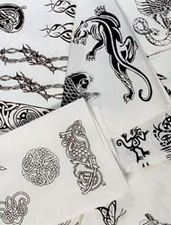 Tattoo sheets