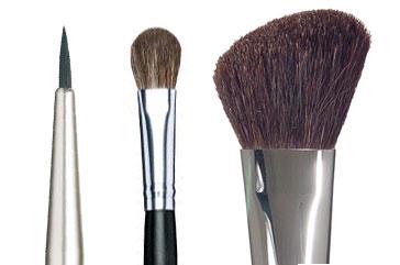 Buying makeup brushes