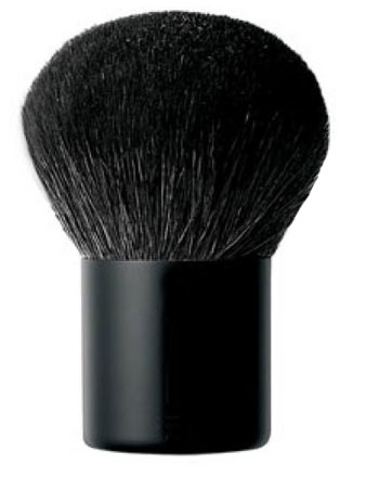 Kabuki makeup brush for the face