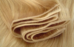 A length of weft