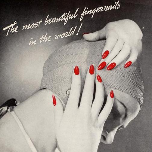 women's 1940s makeup