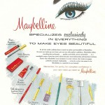 Maybelline beauty advert (1960)