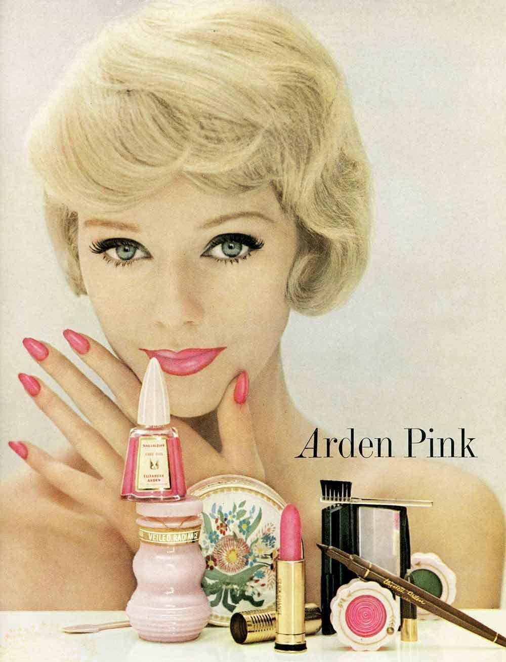 Arden Pink nails (1960) - Hair and Makeup Artist Handbook