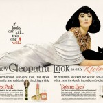 The Cleopatra look with Revlon (1962)