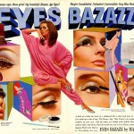 Women's 1960s makeup and Max Factor