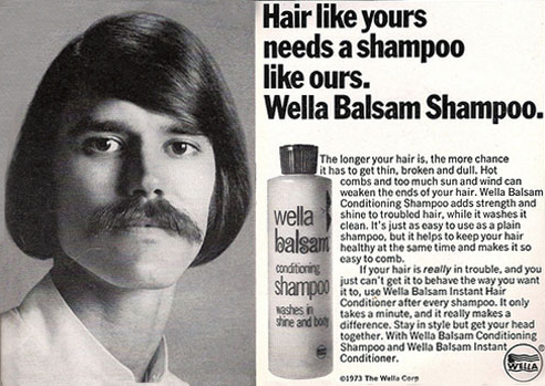 Wella shampoo for men (1973)