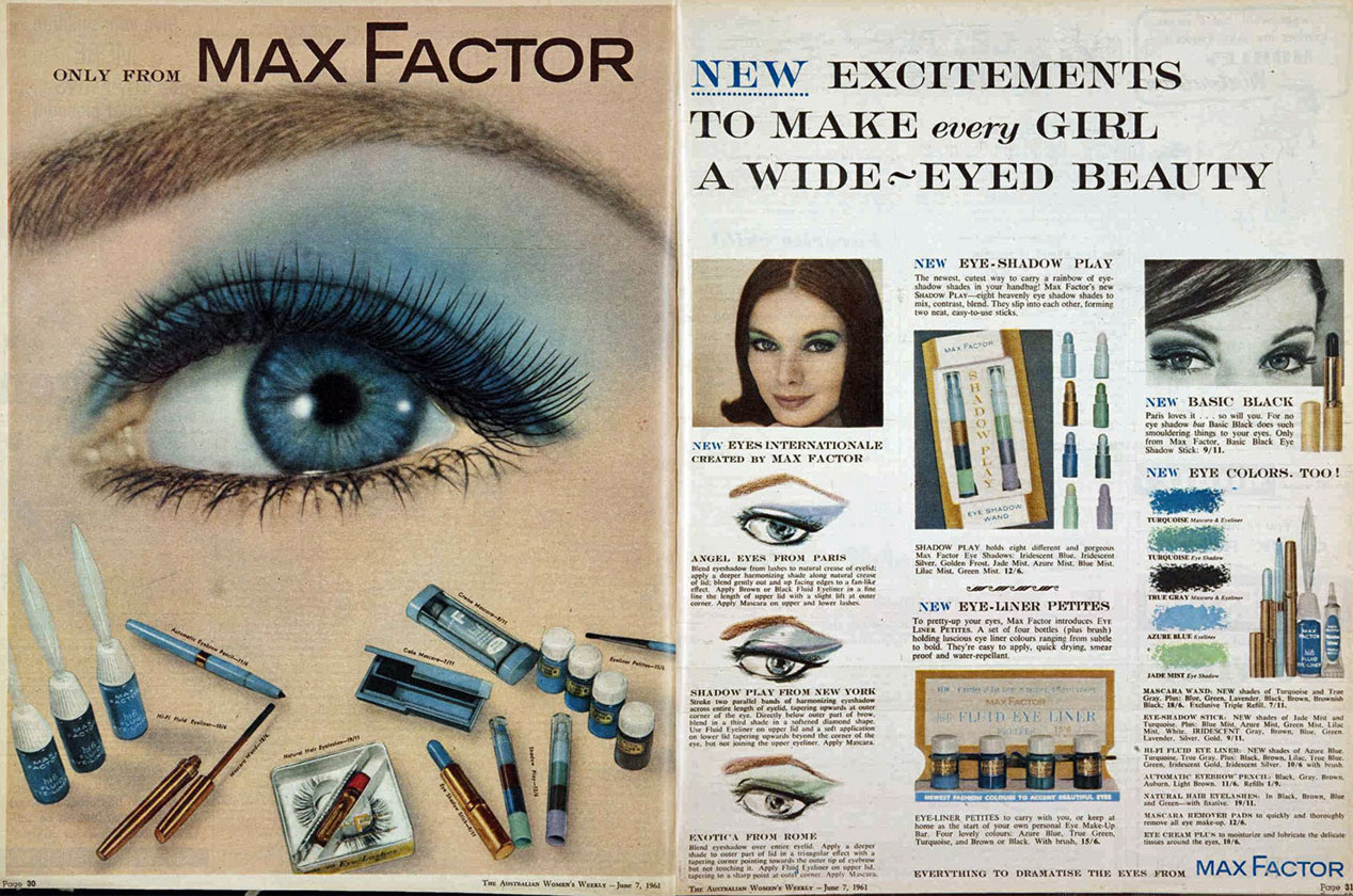 Max Factor 1961 Hair And Makeup Artist Handbook