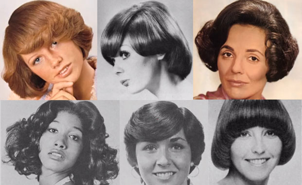 1970s Hairstyles for Short Hair Women