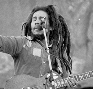 Bob Marley (late '70s)