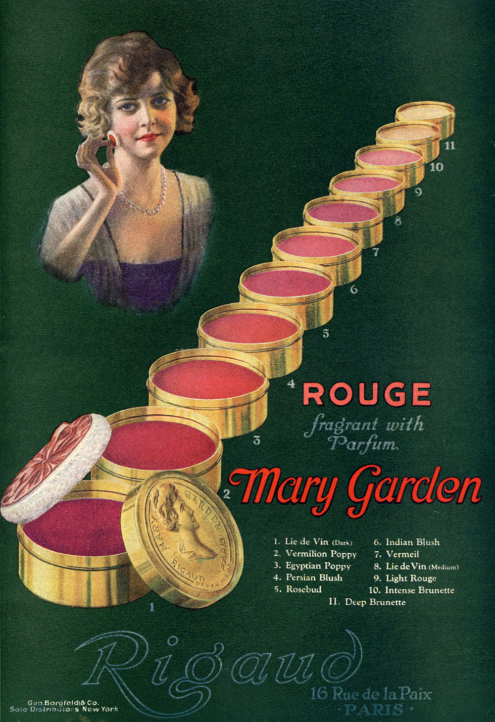 Mary Garden rouge (1920)