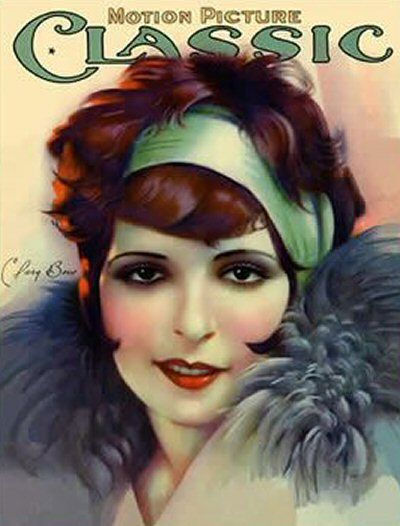 Clara Bow (Motion, July 1927)