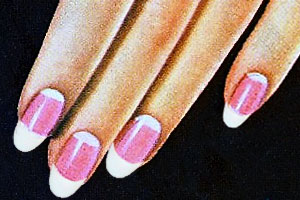 Cutex nails 1920s