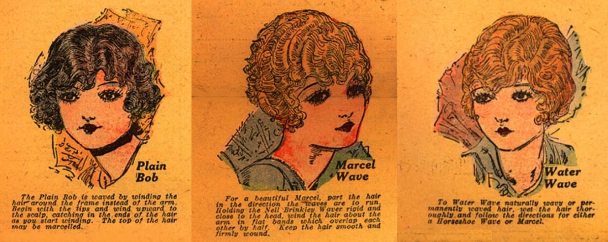 Vintage 1920s hairstyles