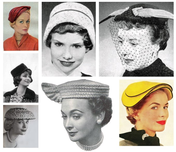 1950s vintage hats