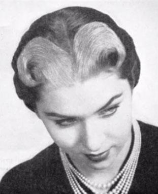 Bleached fringe (1953)