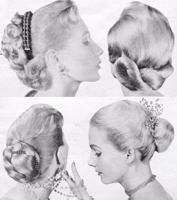 Women S 1950s Hairstyles An Overview Hair And Makeup