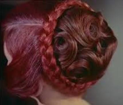 Women's 1950s hairstyles