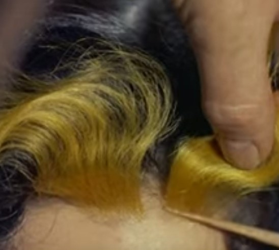 Hair flashes 1950s