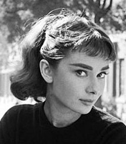 1950s Hairstyles 10 easy 1950s hairstyles for a vintage retro look bestpickr1950s hairstyles for curly Audrey Hepburn Ponytail
