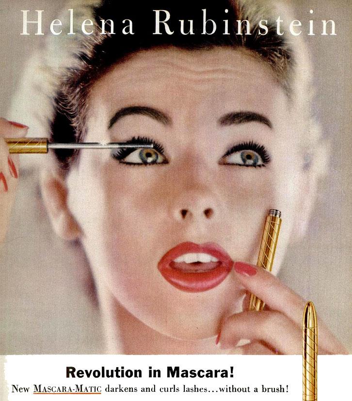 helena rubinsteins waterproof mascara c1957 hair and