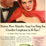 beauty adverts 1950s