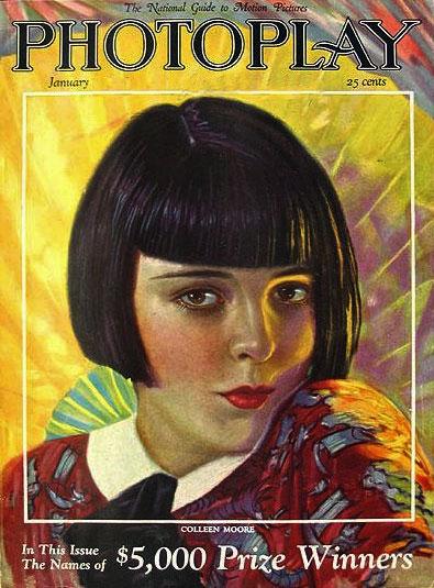 1920s makeup Colleen Moore