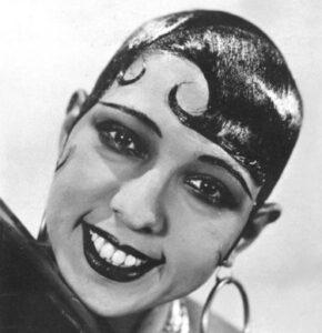 women's 1920s hairstyles Josephine Baker