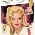 1940s makeup advert