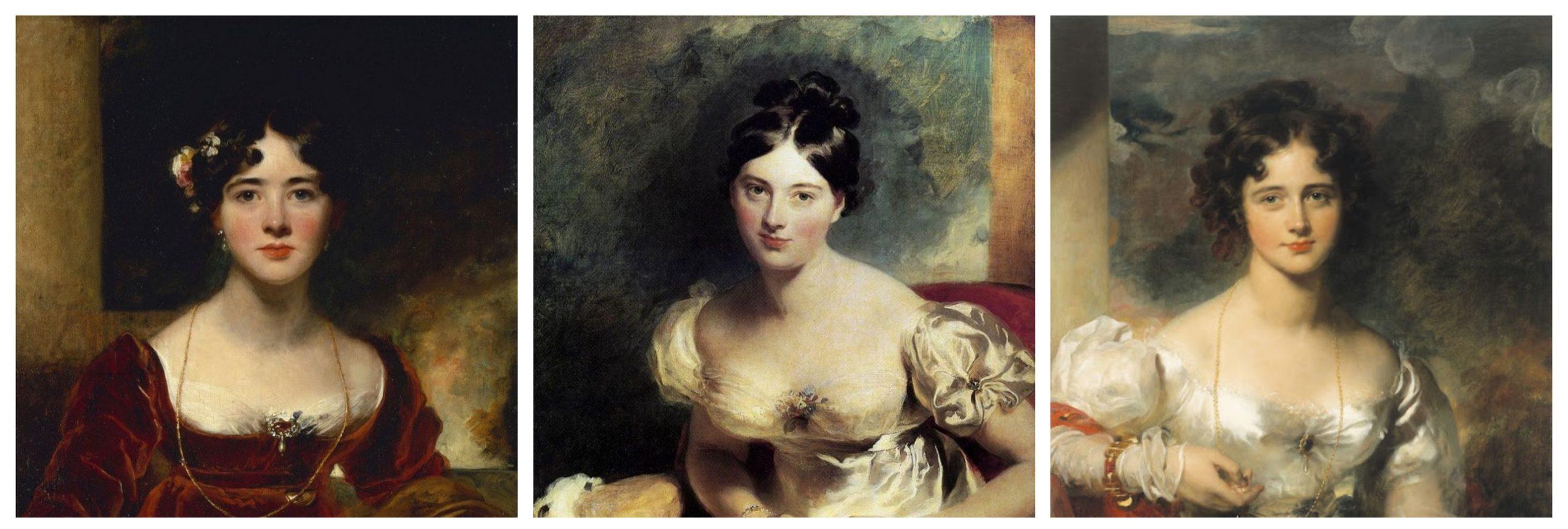 Regency women's makeup