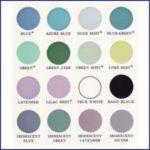 1960s Makeup Colour Charts