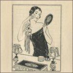 Vintage 1920s Makeup Colour Charts & Brochures