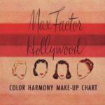 Vintage 1950s Makeup Colour Charts & Brochures
