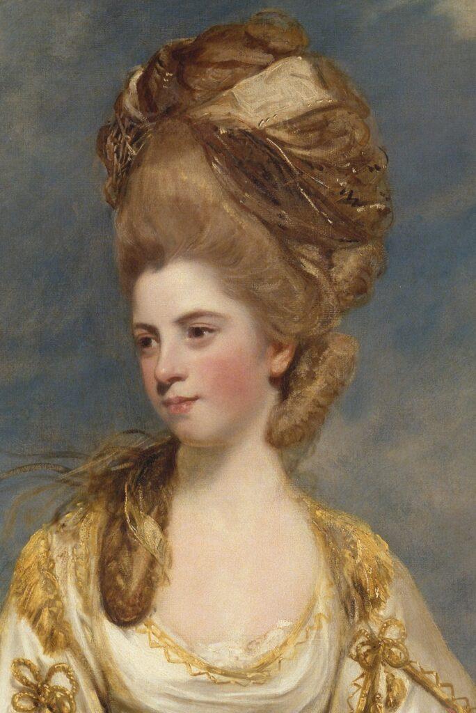 Georgian women's makeup