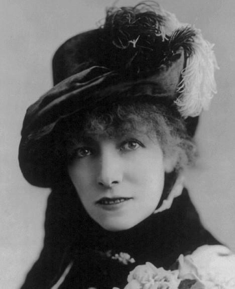 Victorian makeup Sarah Bernhardt